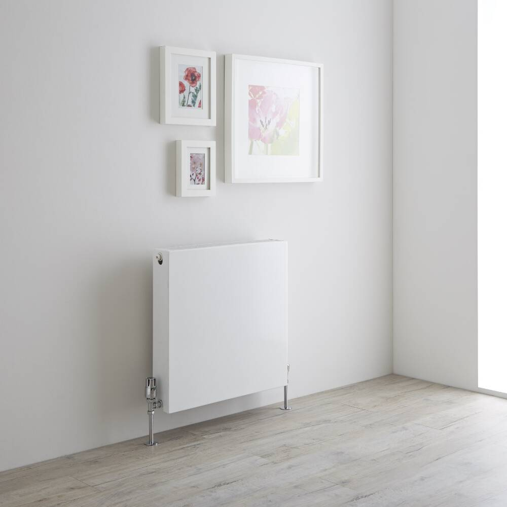 Milano Mono - Double Flat Panel Convector Radiator - 600mm x 600mm (Type 22)