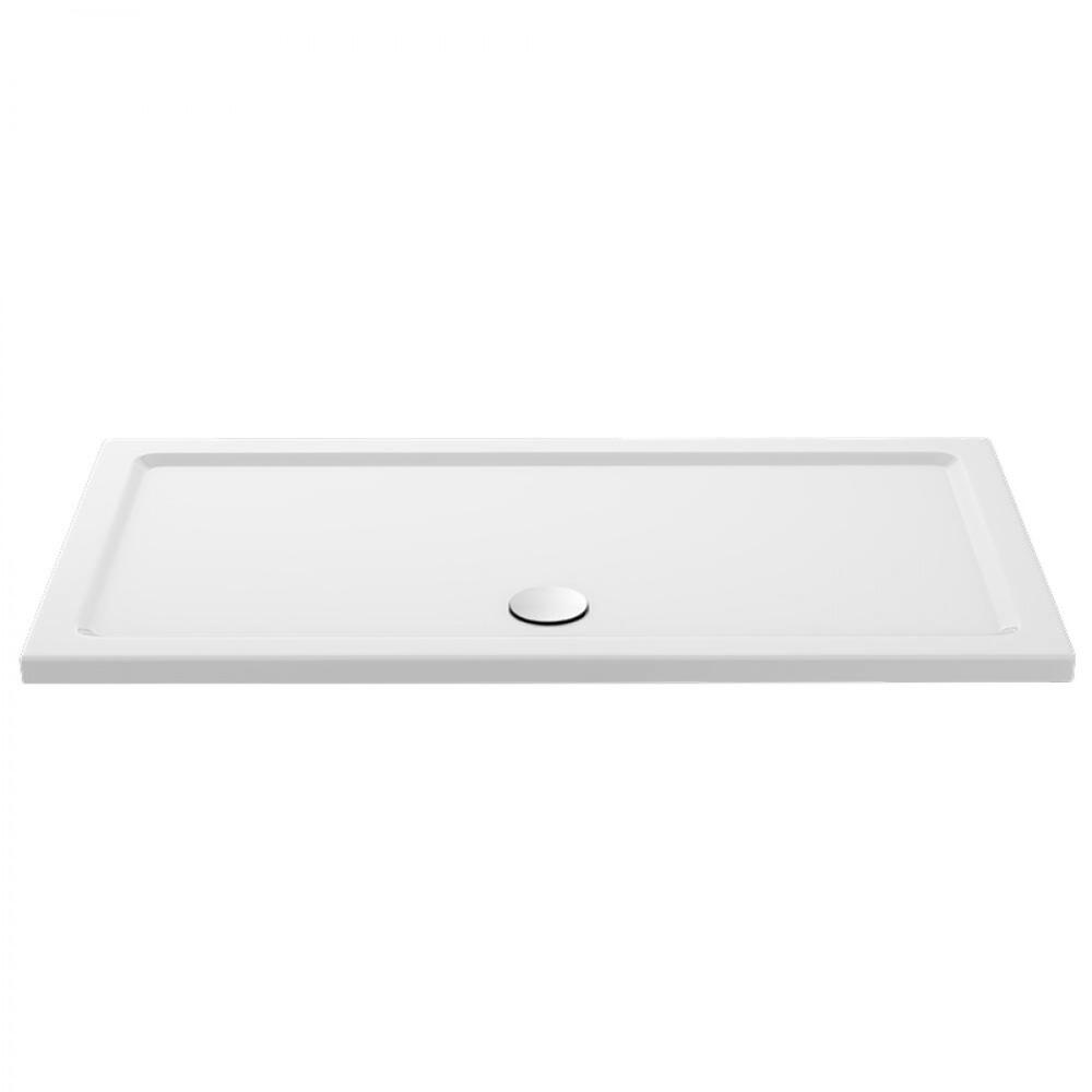Premier Pearlstone - 1400mm x 700mm Rectangular Shower Tray