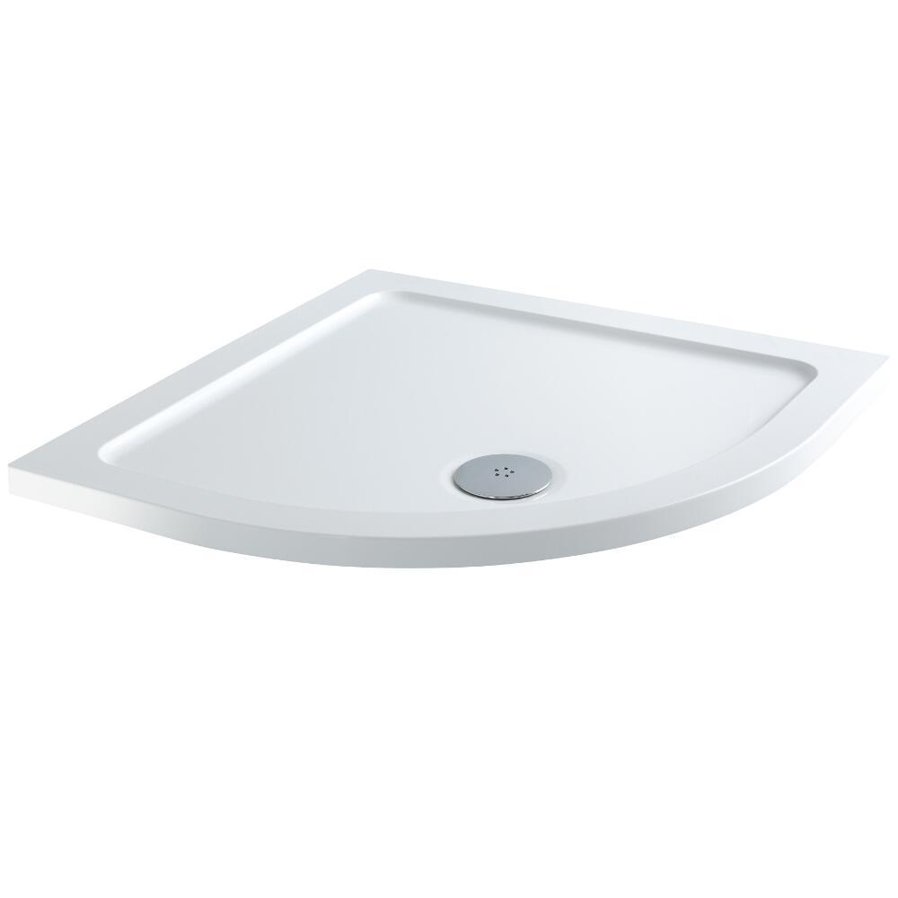 Milano Low Profile Quadrant Shower Tray 900 x 900mm