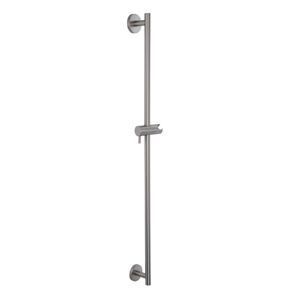 Milano Hunston - Modern Shower Slide Rail - Brushed Nickel