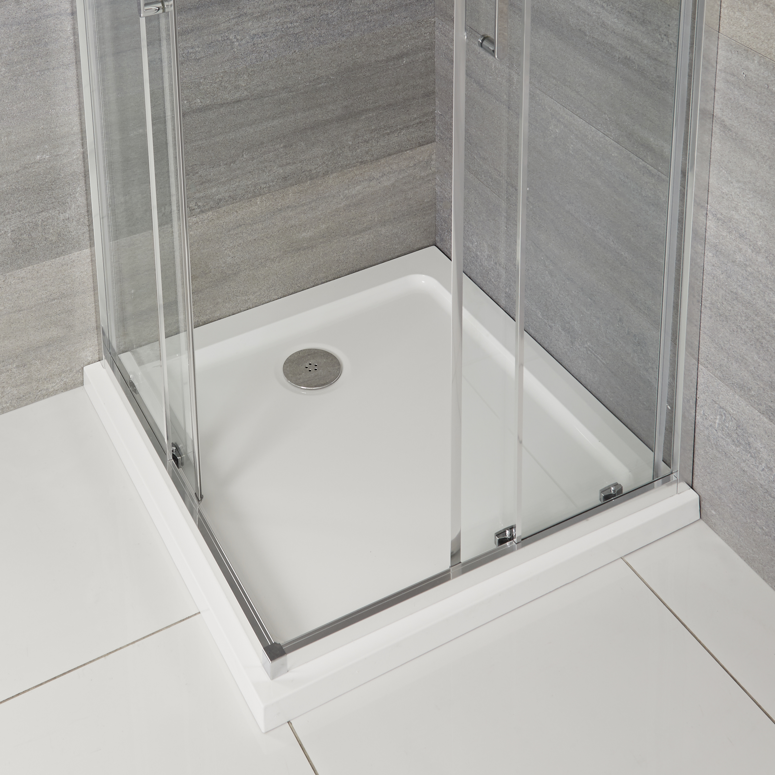Milano - Low Profile Square Shower Tray - 760mm x 760mm