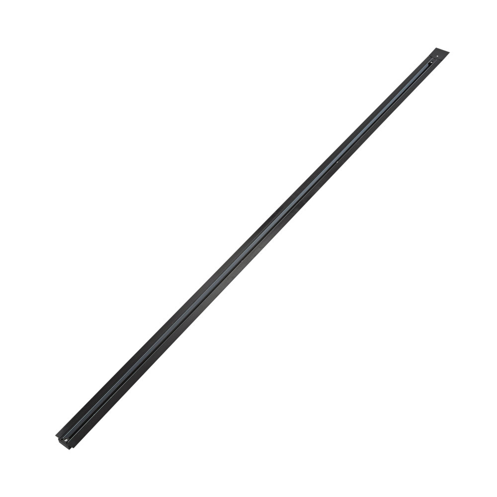 Biard 2m Recessed Track - Black