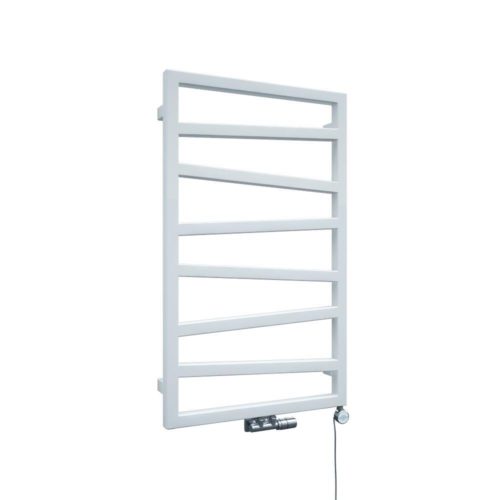 Terma ZigZag - White Vertical Heated Towel Rail - 835mm x 500mm