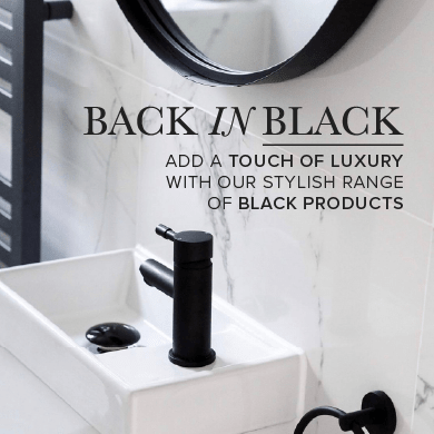 Back In Black - Add a touch of luxury with our stylish range of Black Products