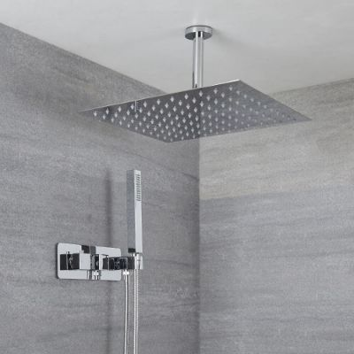 Concealed Showers with Handset