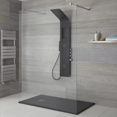 Exposed Showers with Bodyjets