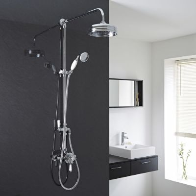 Exposed Showers with Handset