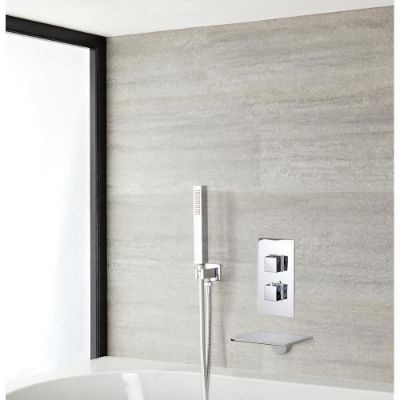 Mixer Showers with Bath Filler