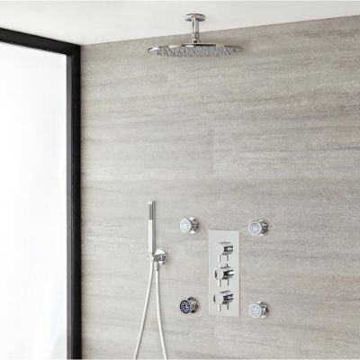 Modern Showers with Handset
