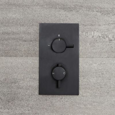 Black Shower Valves