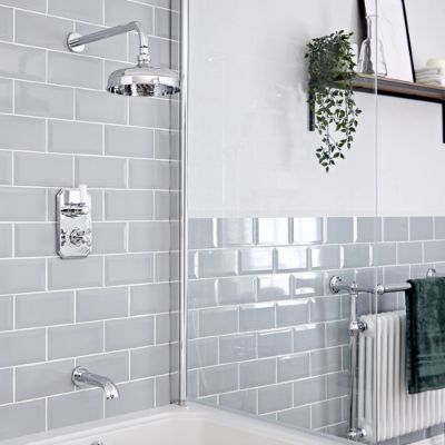 Showers with Bath Filler