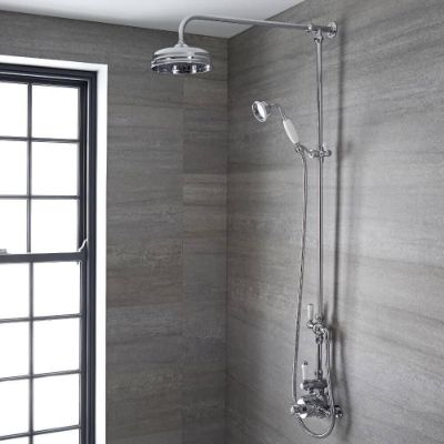Traditional Exposed Showers