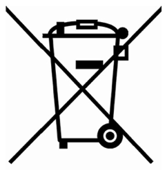 Non-Disposal of electrical items logo
