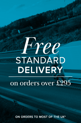 Free delivery on orders over £295