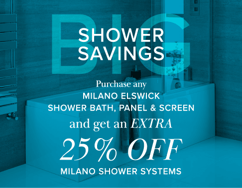 25% off showerbaths