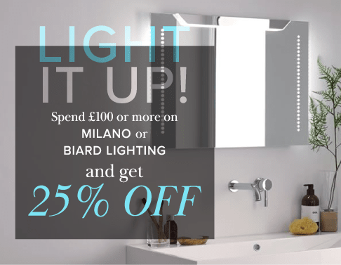 25% off lighting